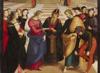 Raffaello Sanzio, modello dell'artista cristiano