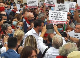 Salvini promette battaglia in aula