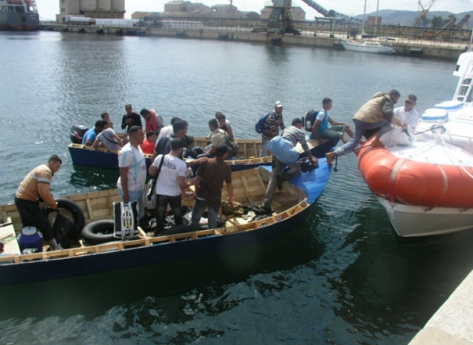 L'arrivo di immigrati in Sardegna