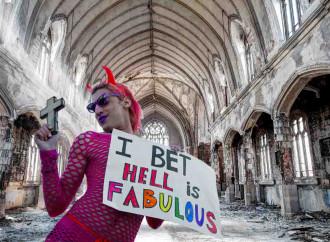 I satanisti sposano la causa omosessualista e abortista