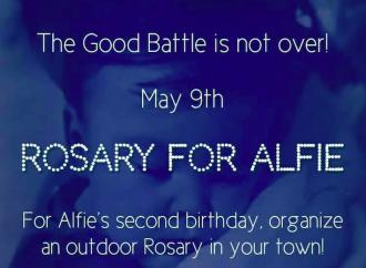 Veglie per il compleanno di Alfie: perché preghiamo