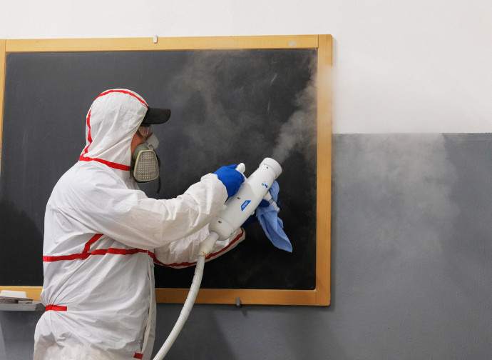 Sanificazione delle scuole