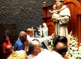 È stata riaperta per alcune ore nello Sri Lanka la chiesa dedicata a sant'Antonio