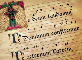 Te Deum laudamus, con le tracce del tuo amore ci educhi