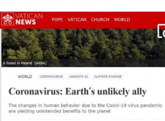 Coronavirus ed ecologismo, Vatican News non c'inganna