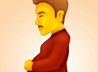 Nuova emoticon: l'uomo incinto