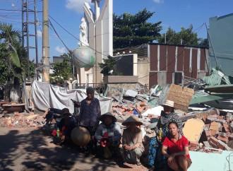 Ho Chi Minh City, 200 famiglie cattoliche hanno perso la casa e rischiano di vivere per strada
