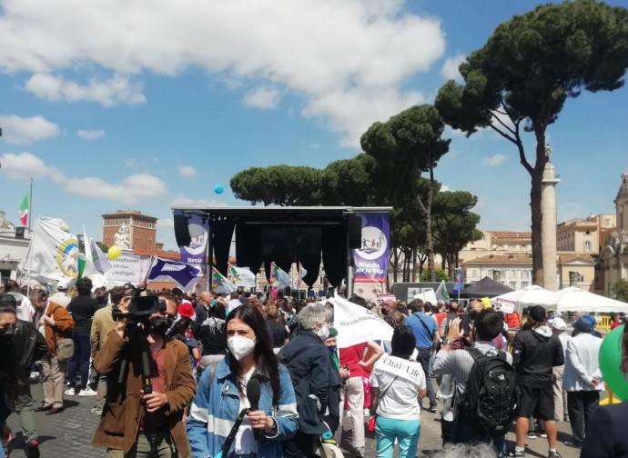 Marcia per la Vita a Roma